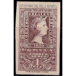 (1079) 1950. 1 Peseta. Cent. Sello Español (Nuevo)