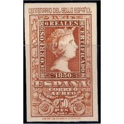 (1080) 1950. 2,50 Pesetas. Cent. Sello Español (Nuevo)