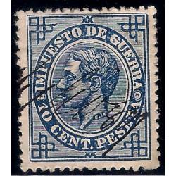 (184) 1876. 10 Céntimos. Alfonso XII (Usado)