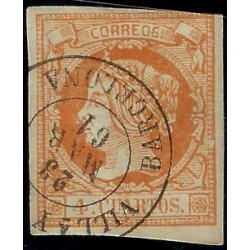 (52) 1860-61. 4 Cuartos. Isabel II (Usado)