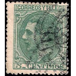 (201) 1879. 5 Céntimos. Alfonso XII (Usado)