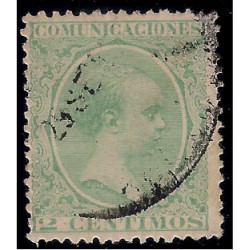 (213) 1889-1901. 2 Céntimos. Alfonso XIII (Usado)