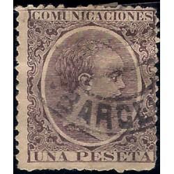 (226) 1889-1901. 1 Peseta. Alfonso XIII (Usado)