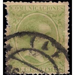 (220) 1889-1901. 20 Céntimos. Alfonso XIII (Usado)