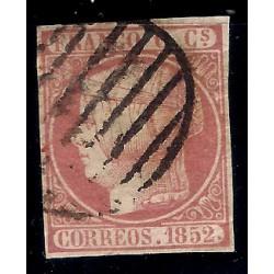 (12) 1852. 6 Cuartos. Isabel II (Usado)