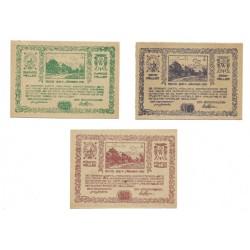 Zwettl (Baja Austria). 1921. Serie (3 Valores) (EBC+)