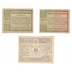 Niederneukirchen (Linz). 1920. Serie (3 Valores) (MBC+)