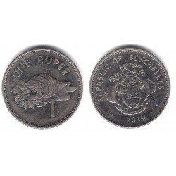 (50.2) Seychelles. 2010. 1 Rupee (MBC+)