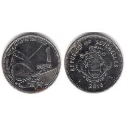 Seychelles. 2016. 1 Rupee (EBC)