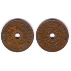 (8a) Rhodesia del Sur. 1947. 1 Penny (MBC+)