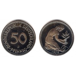 (109.2) Alemania. 1978(J). 50 Pfennig (Proof)