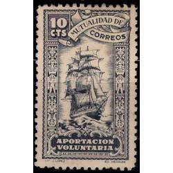 Mutualidad de Correos. 10 Céntimos (Usado)