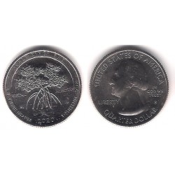 Estados Unidos de América. 2020(S). Quarter Dollar (SC) Salt River Bay
