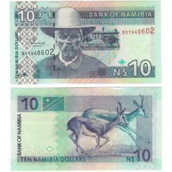 (4c) Namibia. 2001. 10 Dollars (SC)
