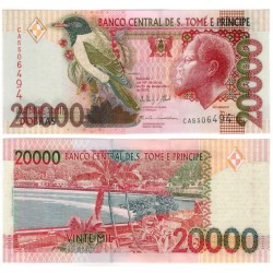 (67e) Santo Tomé y Principe. 2013. 20000 Dobras (SC)