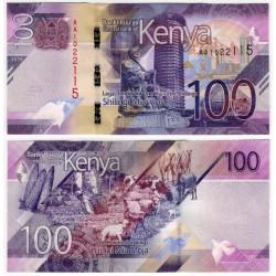 Kenia. 2019. 100 Shillings (SC)