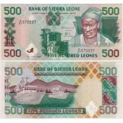 (23b) Sierra Leona. 1998. 500 Leones (SC)