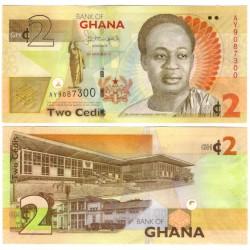 (37Ab) Ghana. 2013. 2 Cedis (SC)