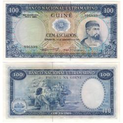 (45) Guinea-Bissau. 1971. 100 Escudos (SC)