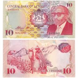 (11) Lesoto. 1990. 10 Maloti (SC)