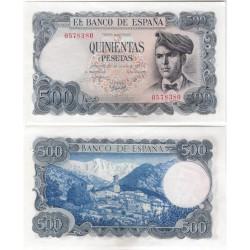 Estado Español. 1971. 500 Pesetas (SC) Sin Serie