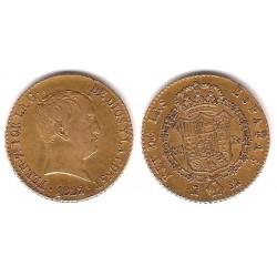 Fernando VII. 1822. 80 Reales (MBC) (Oro) Ceca de Madrid SR
