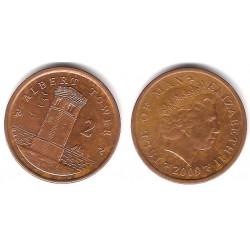 (1254) Isla de Man. 2009. 2 Pence (MBC)