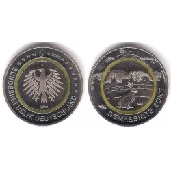 Alemania. 2019(F). 5 Euro (SC)