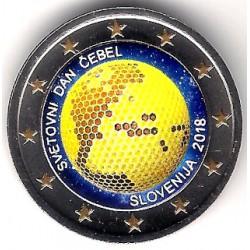 Eslovenia. 2018. 2 Euro (SC) Coloreada