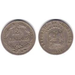 (Y39) Venezuela. 1958. 12½ Céntimos (BC)