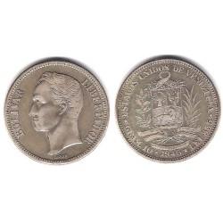 (Y23a) Venezuela. 1945. 2 Bolivares (MBC) (Plata)