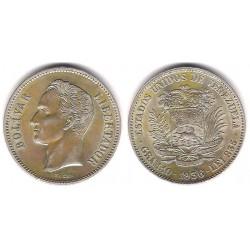 (Y24.2) Venezuela. 1936. 2 Bolivares (EBC) (Plata)