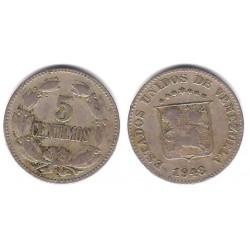 (Y29a) Venezuela. 1948. 5 Céntimos (BC+)