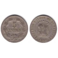 (Y29a) Venezuela. 1948. 5 Céntimos (BC)