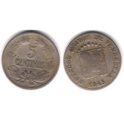 (Y29a) Venezuela. 1945. 5 Céntimos (BC+)