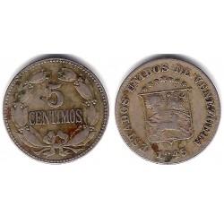 (Y29a) Venezuela. 1945. 5 Céntimos (BC)