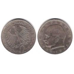 (116) Alemania. 1961(D). 2 Mark (MBC+)