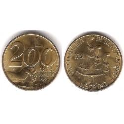 (268) San Marino. 1991. 200 Lira (EBC+)