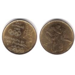 (109) San Marino. 1980. 200 Lira (EBC)