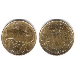 (123) San Marino. 1981. 200 Lira (MBC)