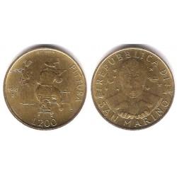 (366) San Marino. 1997. 200 Lira (SC)
