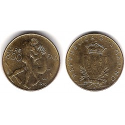 (96) San Marino. 1979. 200 Lira (EBC+)