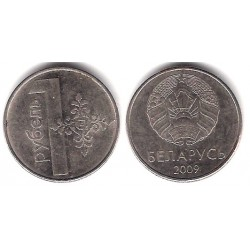 Bielorrusia. 2009. 1 Rouble (MBC)