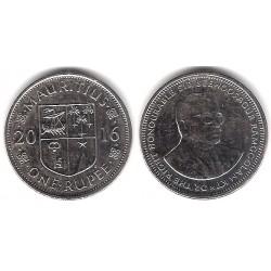 Mauricio. 2016. 1 Rupee (EBC)
