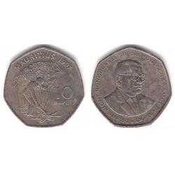 (61) Mauricio. 1997. 10 Rupees (MBC-)