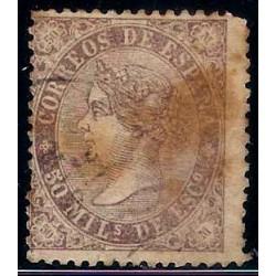 (98) 1868. 50 Mils. de Escudo. Isabel II (Usado)