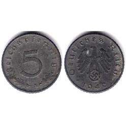 (100) Alemania (III Reich). 1940(A). 5 Pfennig (EBC)