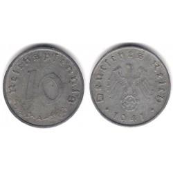 (101) Alemania (III Reich). 1941(A). 10 Pfennig (MBC+)