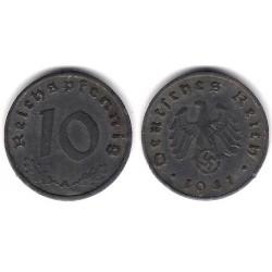 (101) Alemania (III Reich). 1941(A). 10 Pfennig (MBC)