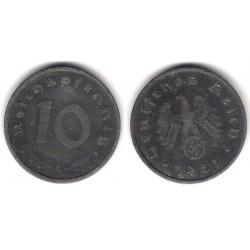 (101) Alemania (III Reich). 1941(A). 10 Pfennig (BC)